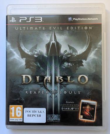 Diablo 3 Reaper of Souls на русском (Ps3)
