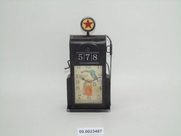 Relógio Máquina Gasolina Antiga 17X7X34CM