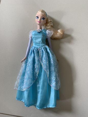 Śpiewająca lalka Elsa Kraina lodu barbie grająca