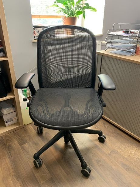 2 fotele biurowe obrotowe