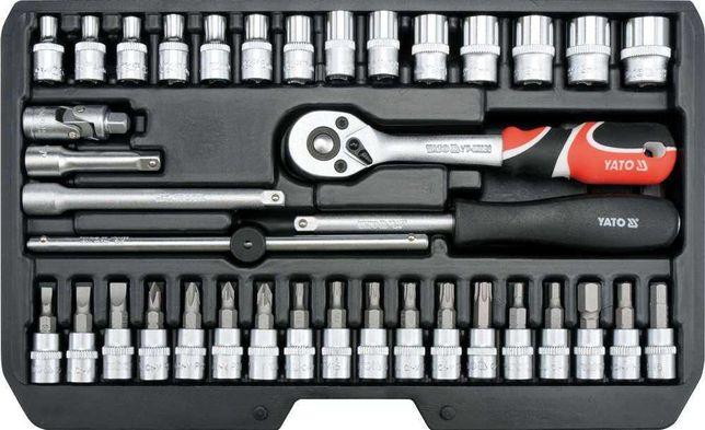"""Zestaw narzędziowy 1/4"""" kpl 38 szt yt-14471"""