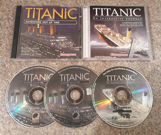 Titanic: An Interactive Journey + Titanic: Adventure Out Of Time PC