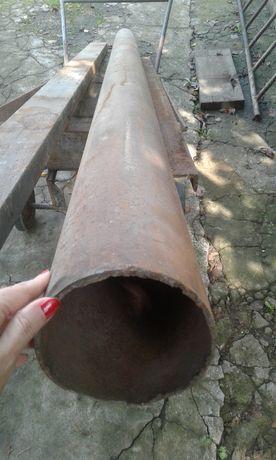 Трубы, труба стальная новая, двухдюймовая.Наружный диаметр 50мм