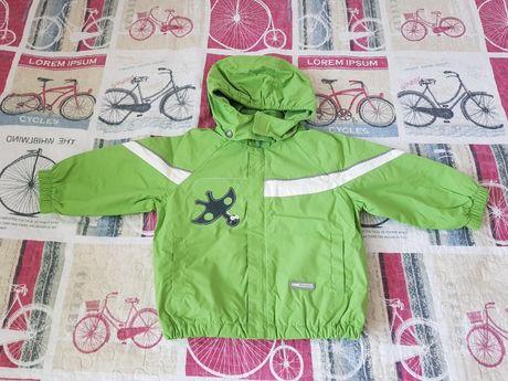 Lenne демисезонная детская куртка на флисе