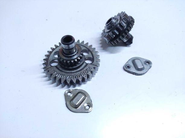 Ktm 450 sxf 530 exc Rozrząd kompletny łańcuszek ślizg części