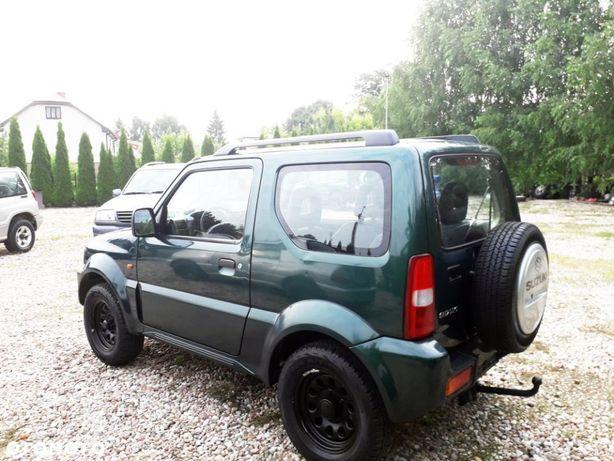 Suzuki Jimny 1.3 Benzyna 4x4 Clima Hak Oryginalny lakier ZIELONY
