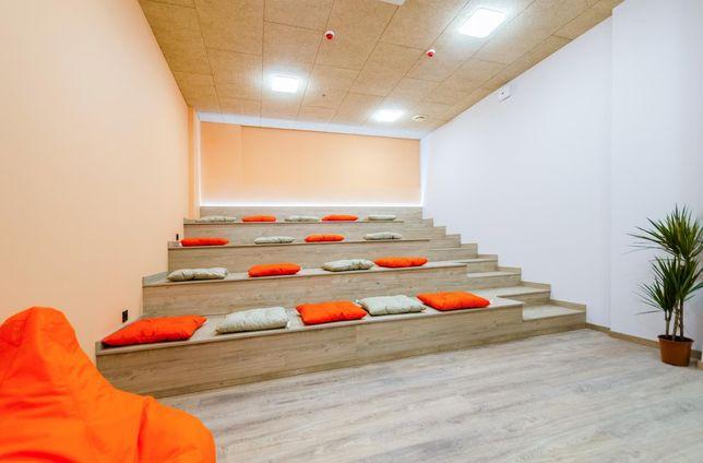 Уютный офис типа аудитория 36 м2 в ультрамодном Мармеладе Соломенка