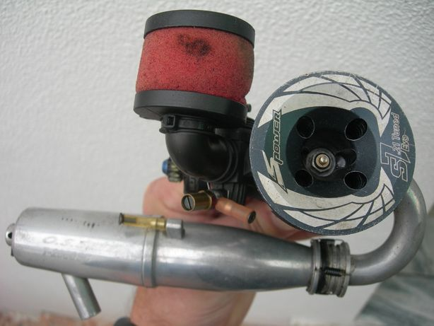 S-POWER S7 EVO motor para radio modelismo 1:8