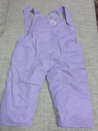 Зимние комбинезонные штаны