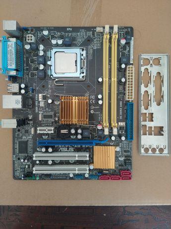 Conjunto motherboard cpu ram
