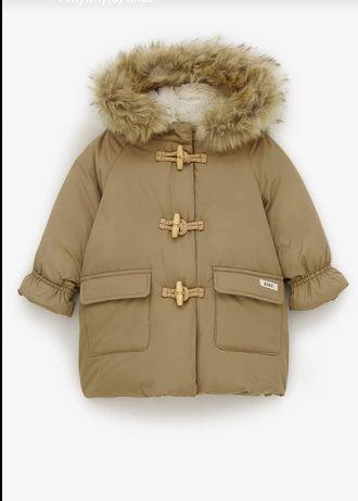 Zara kurteczka płaszczyk piękna 110