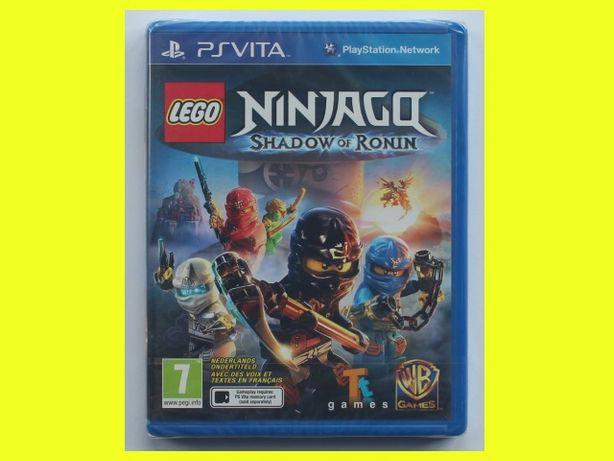 #folia# Lego Ninjago Shadow of Ronin Cień Ronina PS Vita PSV napisy PL