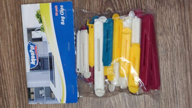 Зажим для пакетов (30 шт) Aquapur Германия