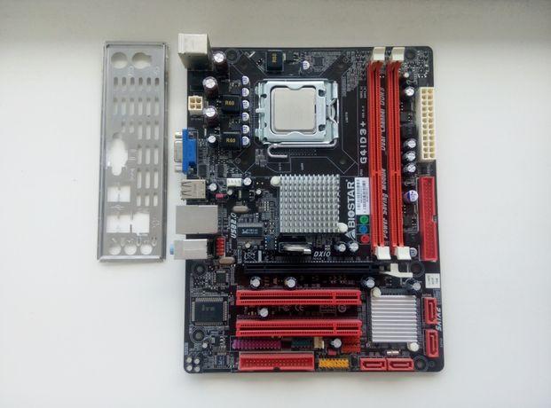 Продаю Топ Материнскую плату Biostar G41D3+ под Процессоры Xeon