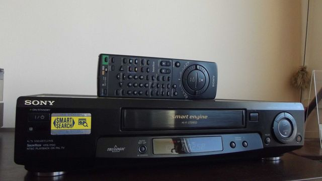 Magnetowid wideo SONY SLV-SE70 HI-FI STEREO + pilot