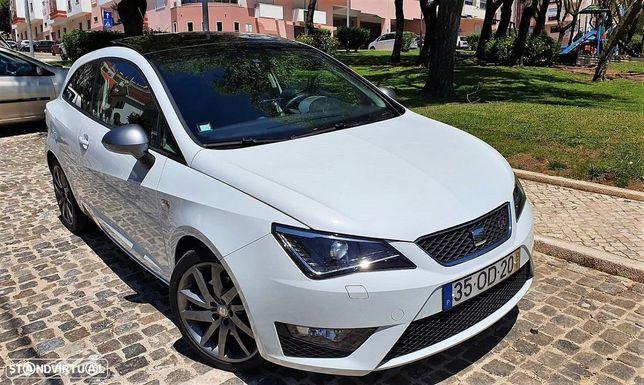 SEAT Ibiza SEAT IBIZA SC 1.6 TDi FR GPS/XENON/TETO PANORÂMICO