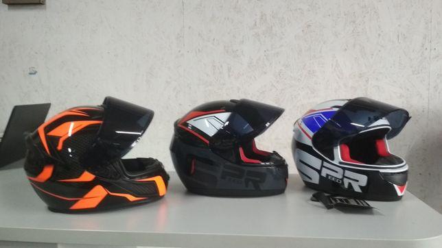 Мотоциклетний шлем / закрытый Мотошлем / шлем интеграл для мотоцикла