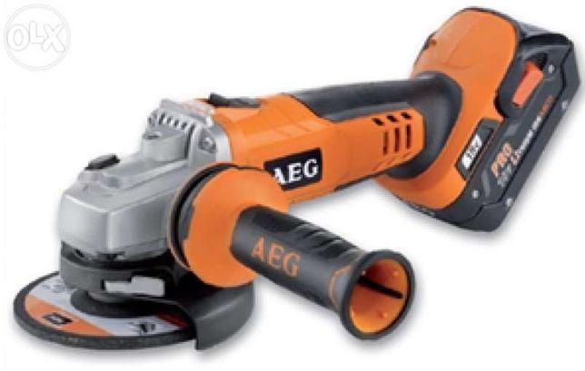 REBARBADORA a bateria sem fios AEG BEWS 18-115x 4,0 Ah
