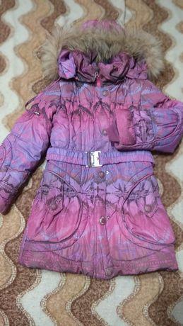 Зимові курточки на дівчинку 8-11 років