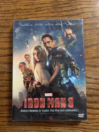 Iron man 3 - film dvd, nowy w folii