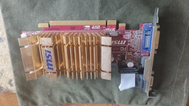 Karta graficzna MSI ATI RADEON HD4350 V161 PCI-E 512MB DDR2