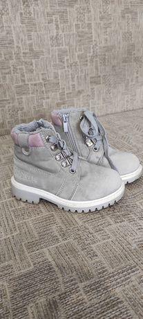 Зимние ботинки тимберленды 24 размер, зимові чоботи, зимние сапожки