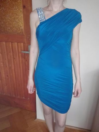 Sexy chabrowa sukieneczka mini
