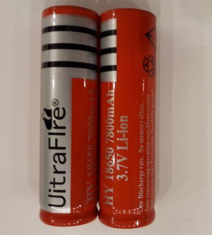 Akumulatorki typ 18650 Li-ion 3,7V 7800 mAh