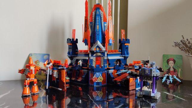 Lego nexo knights Королевский замок Найтон