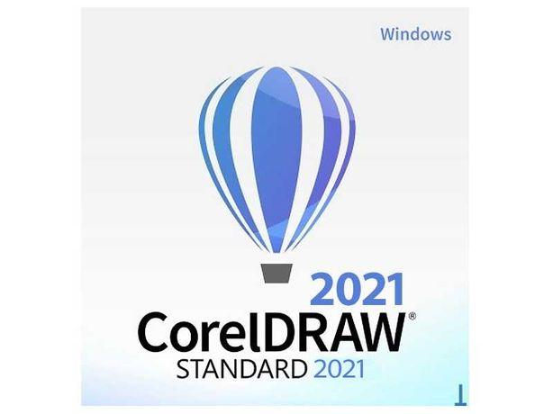 Corel Draw STANDARD 2021 PL/EN WINDOWS Sklep Grafik