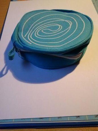 Pequena carteira azul