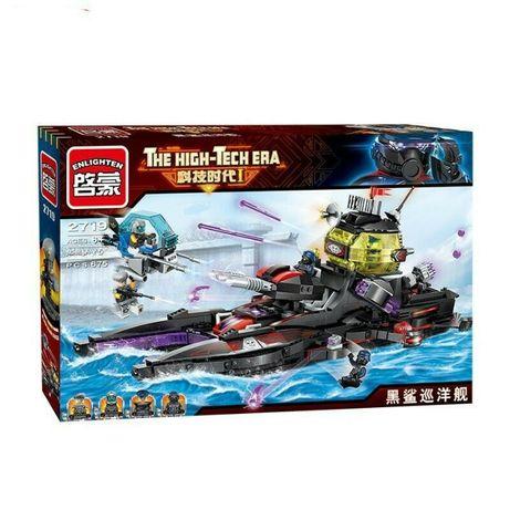 Конструктор Brick 2719 Военный корабль 675 дет аналог Lego Лего