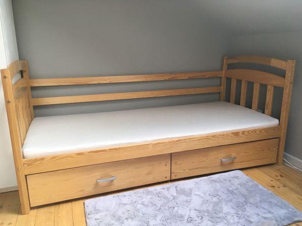 Łóżko drewniane 90x200