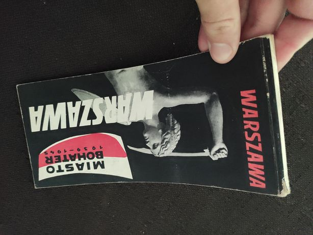"""""""Warszawa"""" blok pocztówek z 1964 r. PRL"""