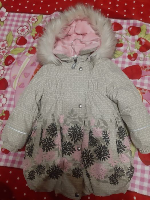 Зимнее пальто ленне рост 92 Первомайск - изображение 1