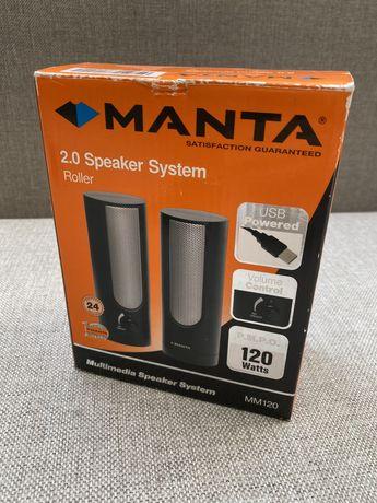 Głośniki komputerowe MANTA Roller MM120