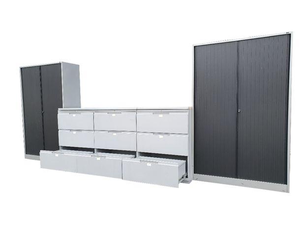 Zabudowa mebli do warsztatu garażu 480 cm 540 kg stół warsztatowy