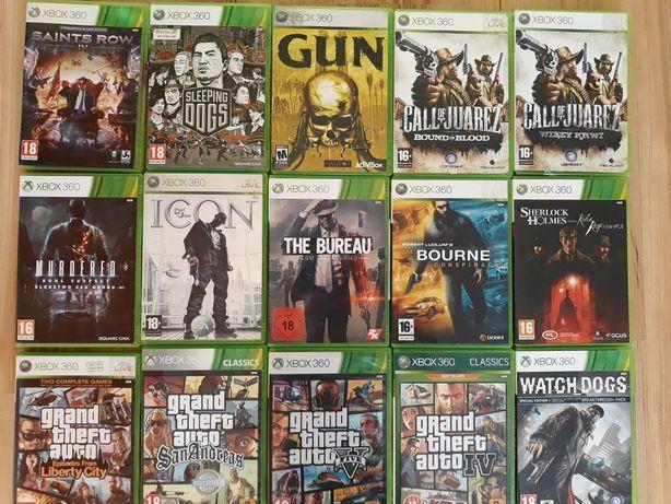 GTA Red Dead Redemption Saints Row gun gry Xbox