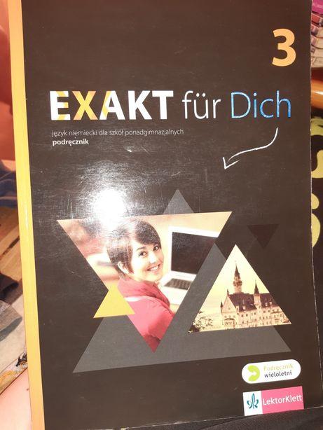 Exakt für dich 3 podręcznik i ćwiczenia do języka niemieckiego
