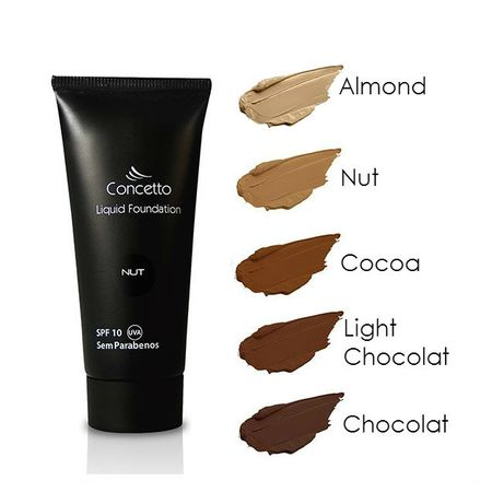 Bases de maquilhagem para peles negras - Liquidas ou pó