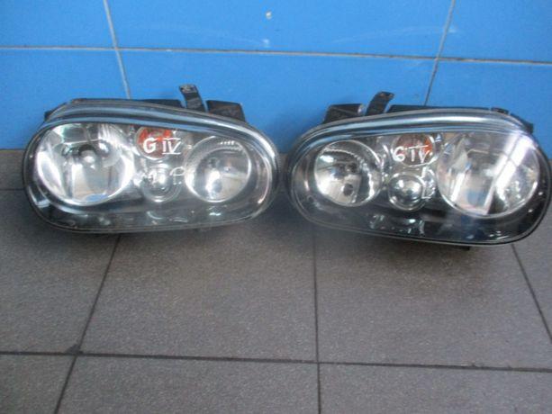 Lampa czarna black VW Golf IV