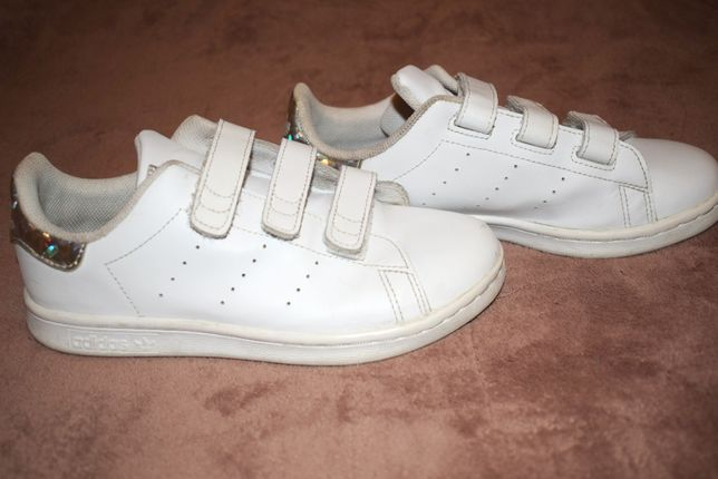 Кросівки-кеди adidas originals stan smith білі, ром.34 кросовки кеды