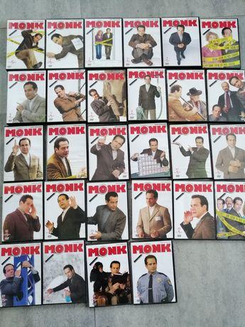Serial MONK kolekcja dvd 72 odcinki