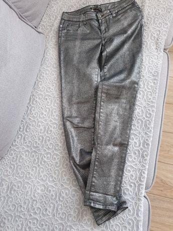 Spodnie jeansowe wężowe toxik3 s