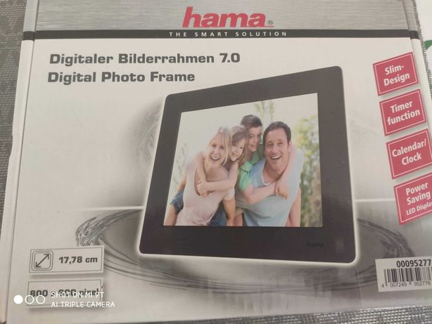 Elektroniczna ramka na zdjęcia Hama