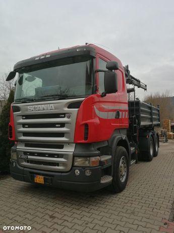 Scania R480  6x4, kiper, HDS,