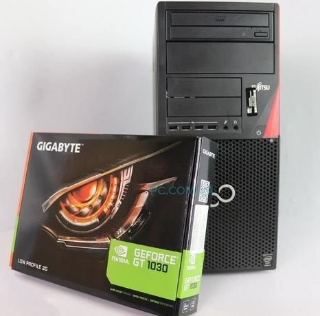 БУ ПКFujitsu P720 4хCore i5-4440 3.3GHz RAM 4GB 250GB HDD +GT1030 2GB