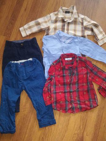 Zestaw ubrań małego elegancika 92