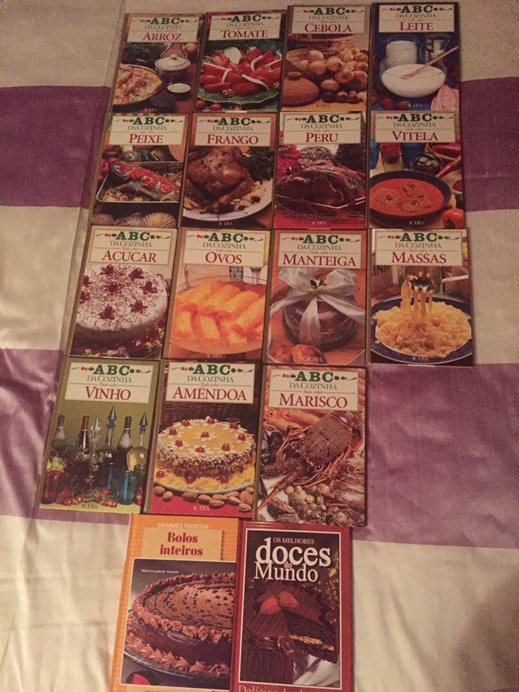 ABC da cozinha- Colecção de 16 livros