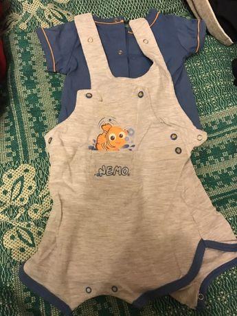 Продам летний костюмчик Disney на новорожденного